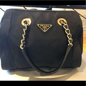 100% Authentic Prada Mini Handbag Black